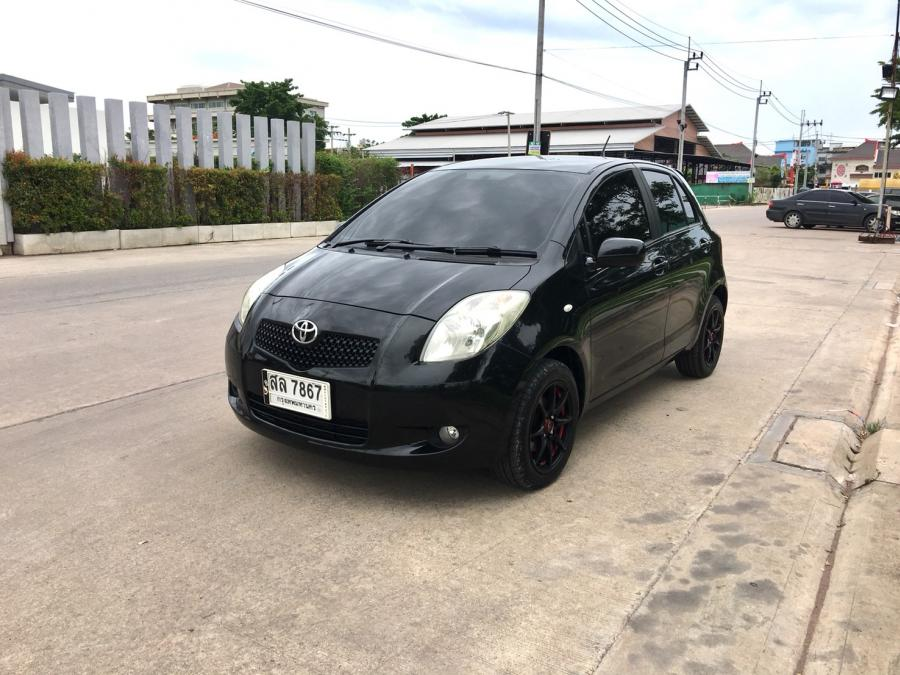 ขาย Toyota Yaris 1.5 E ปี06 เกียร์ A/T สีดำ