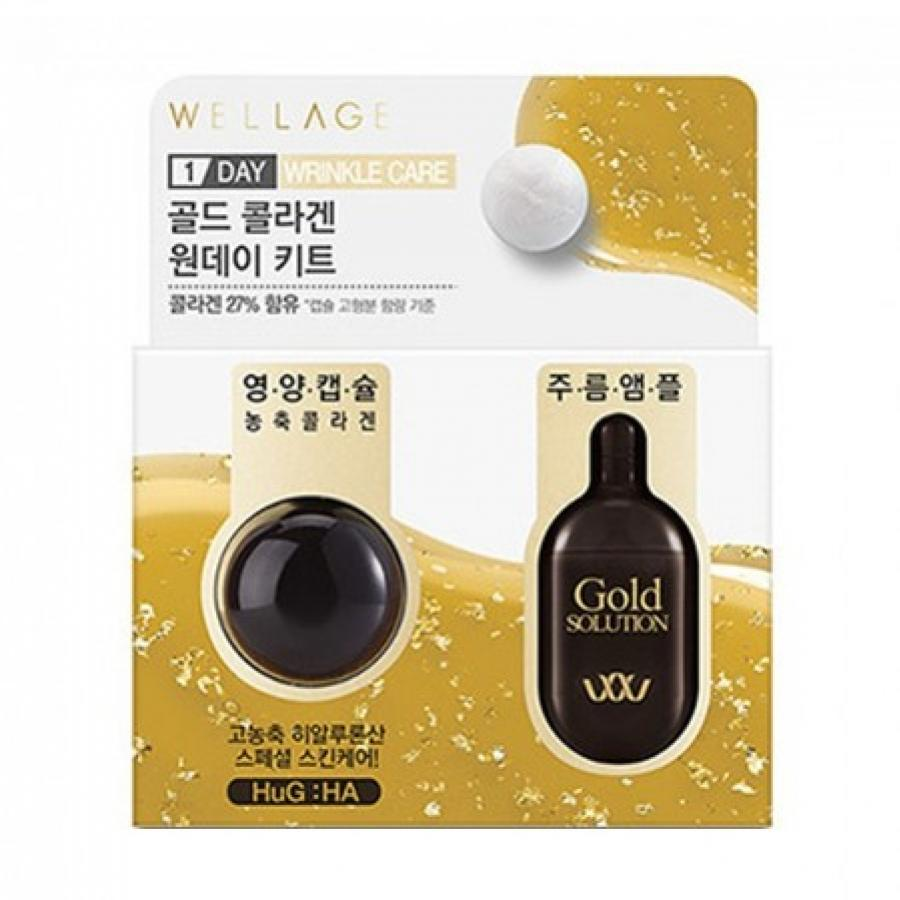 Wellage Real Hyaluronic BIO Capsule Solution