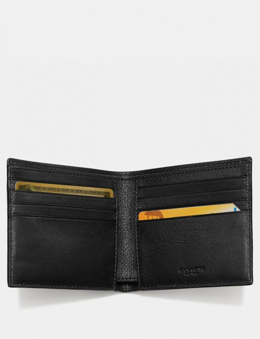 Double Billfold Wallet In Signature Canvas