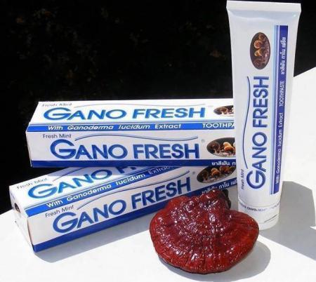 ยาสีฟัน กาโนเฟร็ช  ผสมเห็ดหลินจือ  Gano Fresh