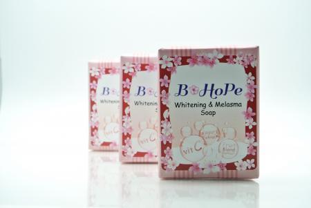 (3 Pcs.) Whitening & Melasma Soap / สบูอัลฟ่า-อาร์บูติน ผสมสารสกัดจากผลไม้ 6 ชนิด และโยเกิร์ต ขนาด 90 กรัม