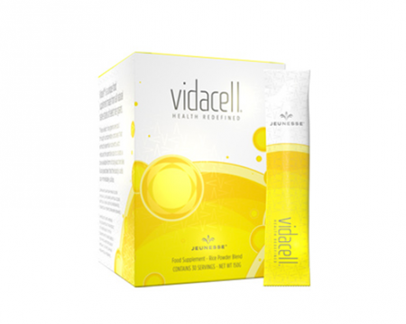 Vidacell ผงข้าวคัดพิเศษช่วยล้างสารพิษ