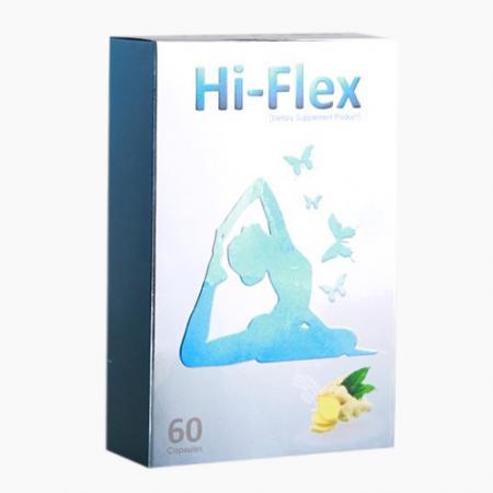 Hi-Flex คอลลาเจนจากปลาทะเลและขิงสารสกัดจากธรรมชาติ 100%