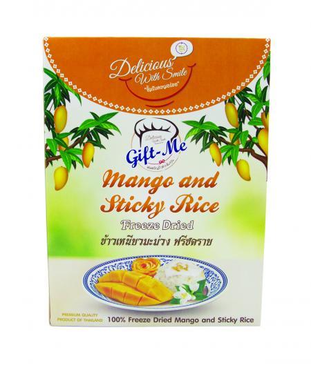 Mango and Sticky Rice Freeze Dried